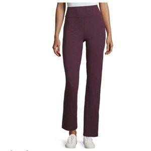 NWT Xersion Studio Yoga Slim Straight Pant Purple